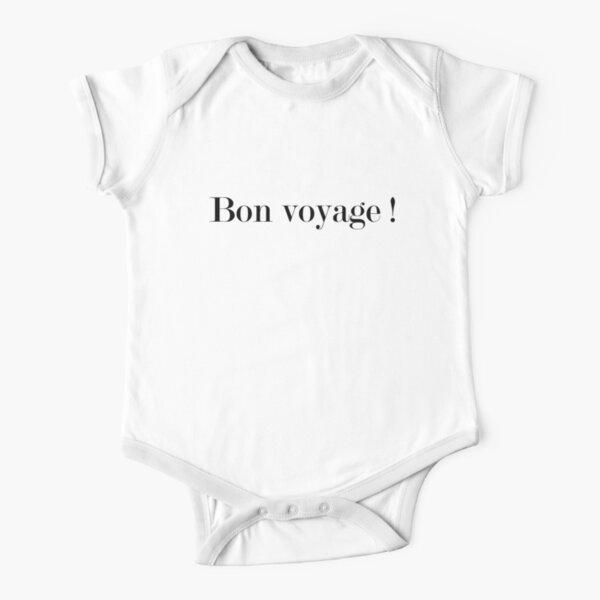 Bon voyage Short Sleeve Baby One-Piece