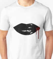 Sexy Dripping  Vampire Lips T-Shirt
