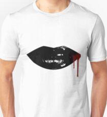 Sexy Dripping  Vampire Lips Unisex T-Shirt