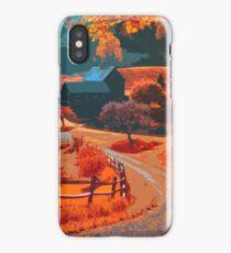 Farm in Autumn iPhone Case/Skin