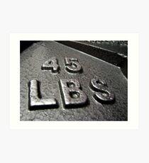 weight Art Print