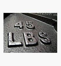 weight Photographic Print