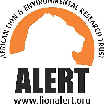 ALERT Logo (Black) by LionALERT