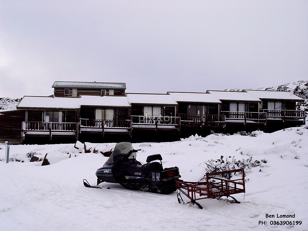 photoj Tasmania's Winter In The Snow - Mt Ben Lomond by photoj