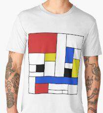 Mondrian Lines Men's Premium T-Shirt