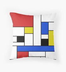 Mondrian Linien Dekokissen