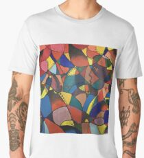 Lost in Colourful Abstract Men's Premium T-Shirt
