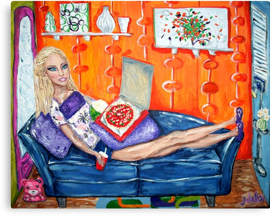 """""""Couch Potato Doll"""" by Adela Camille Sutton"""