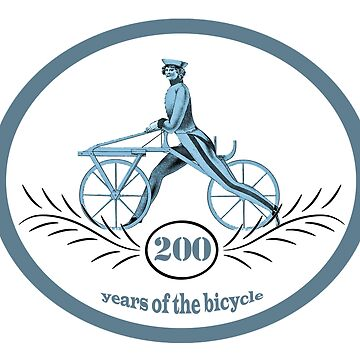 200 Years Of The Bicycle by illustrateme