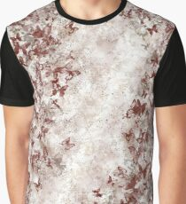 Japanese decorative red butterfly gradation Graphic T-Shirt