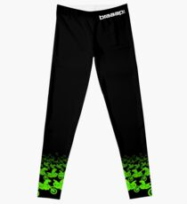 Motocross dirt bike braaap leggings yoga pants green Leggings