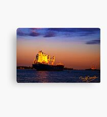 The Freighter Canvas Print