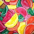 """""""Fruit Slices"""" by Adela Camille Sutton"""