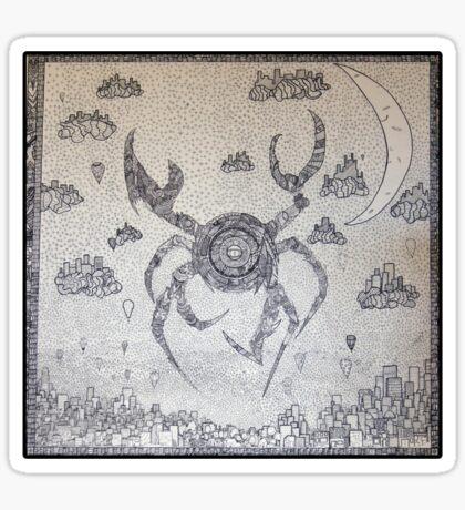 Cyber Crab Sticker