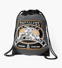 Brazilian Jiu-Jitsu Drawstring Bag