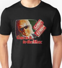 Max Headroom 80s Coke Ad T-Shirt