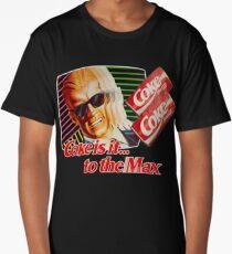 Max Headroom 80s Coke Ad Long T-Shirt