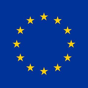 EU Flag Clock by JimmysBook
