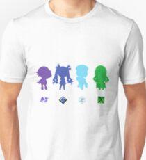 Hyperdimension Neptunia Four Goddesses T-Shirt