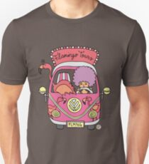 Flamingo Tours! Unisex T-Shirt