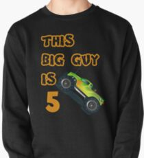 Monster Truck Birthday 5 Year Old Boys T-Shirt