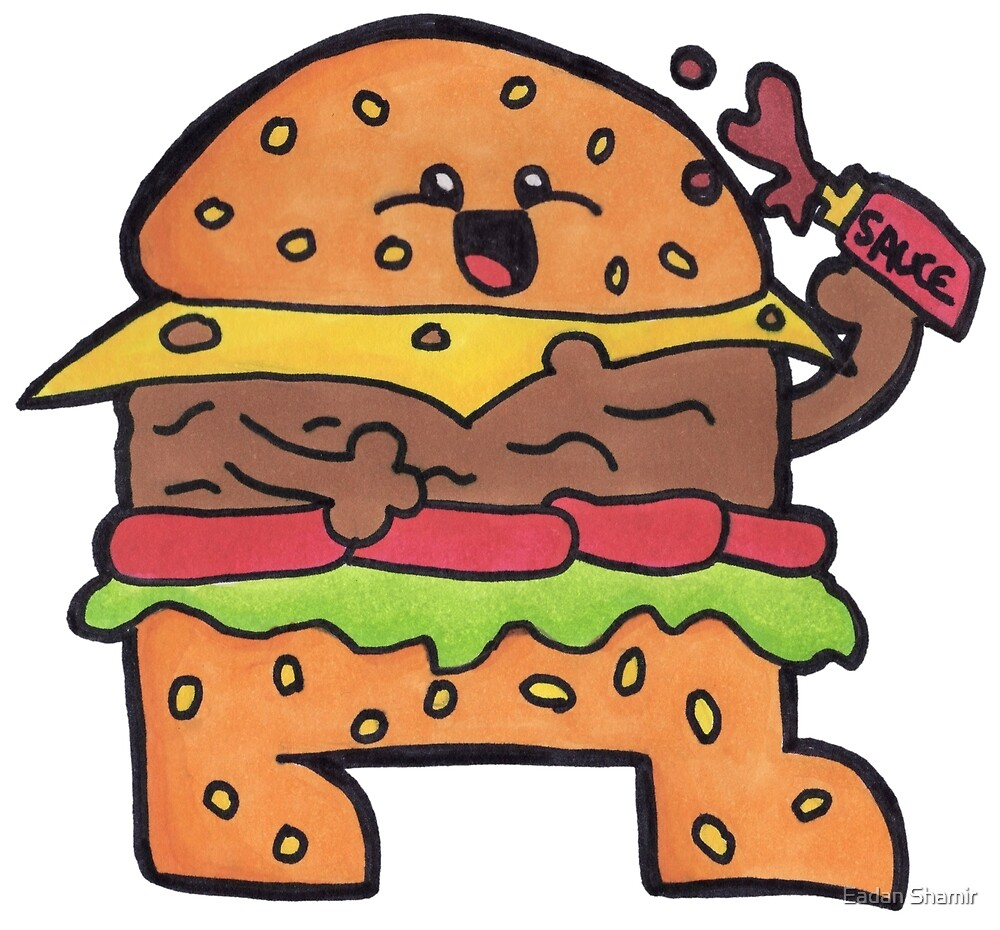 Burger Toon by Eadan Shamir