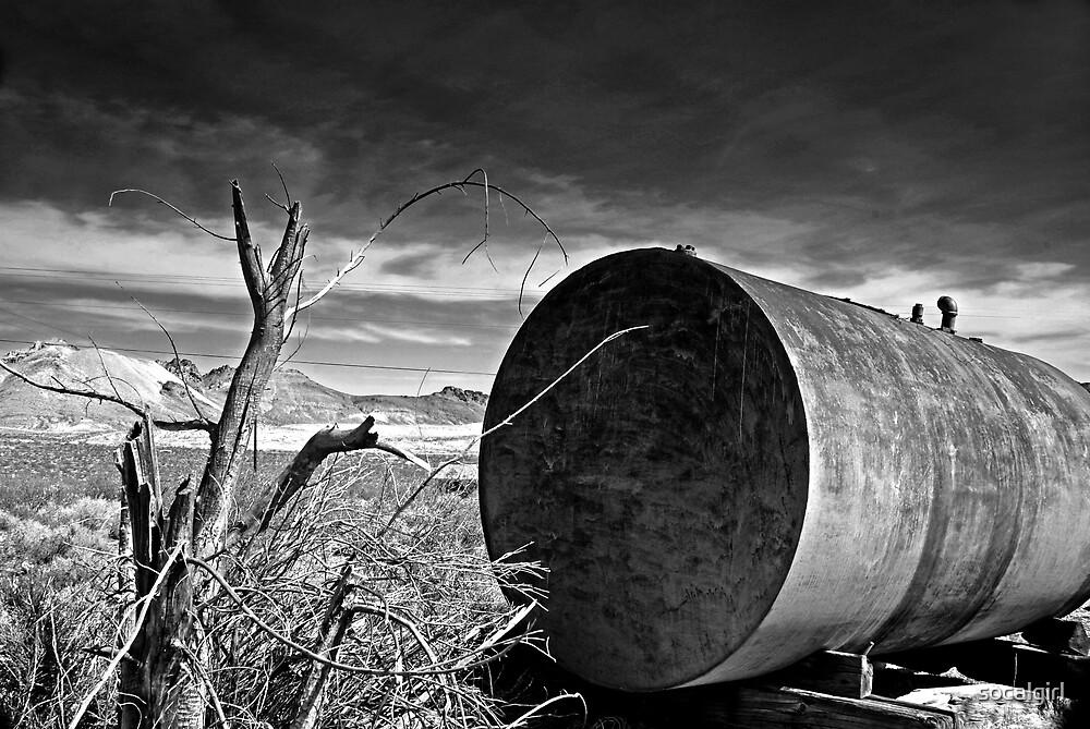 Old desert drum by socalgirl