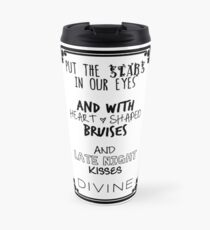Put The Stars In Our Eyes Black Travel Mug