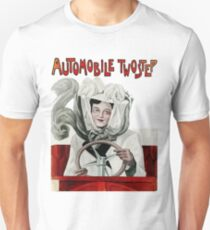 Automobile Two Step Print T-Shirt