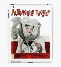 Automobile Two Step Print iPad Case/Skin