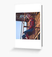 Tom Holland - Spidey 2 Greeting Card