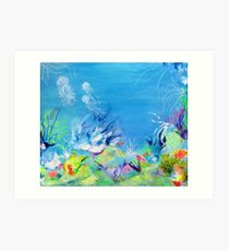 Under the Sea 2 - The Gt Barrier Reef Art Print