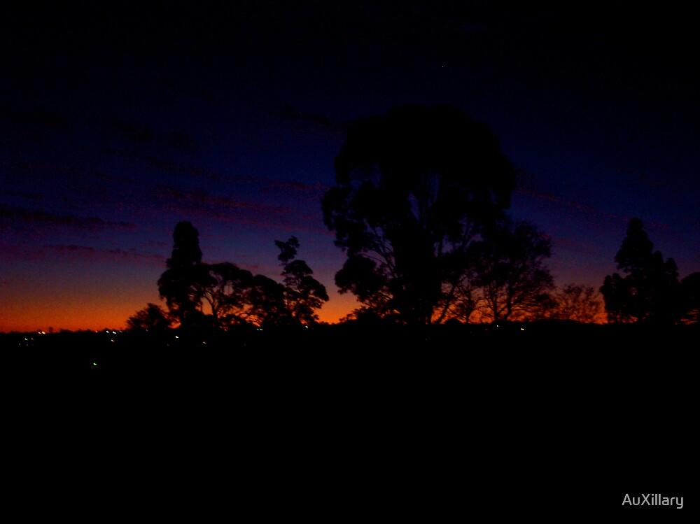 A Crimson Sky by AuXillary