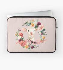 Vegan - Blumenlamm Laptoptasche