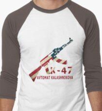 AK 47 Men's Baseball ¾ T-Shirt