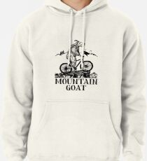 Mountain Goat  Pullover Hoodie