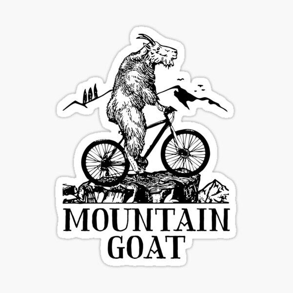 Mountain Goat  Sticker