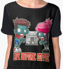 Life Before Coffee Women's Chiffon Top
