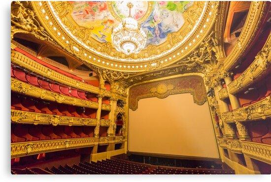 Opera House, Paris 6 by John Velocci