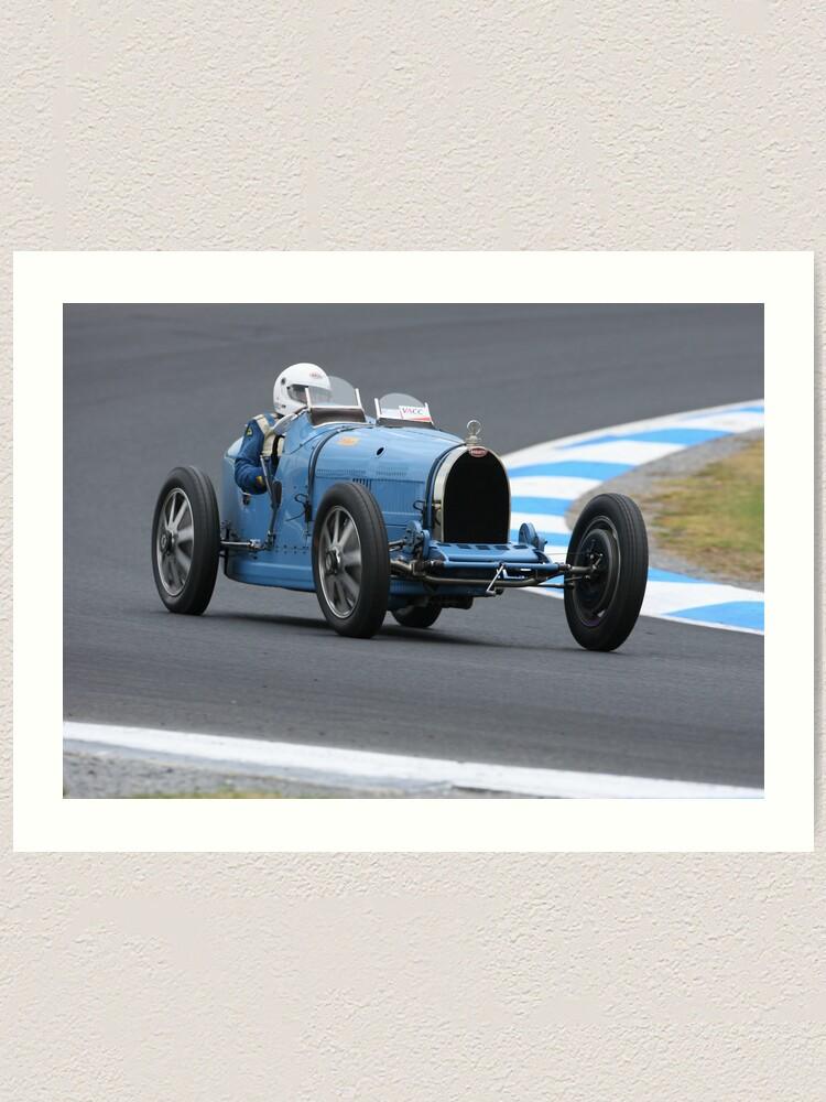 Alternate view of Bugatti Type 35C Art Print