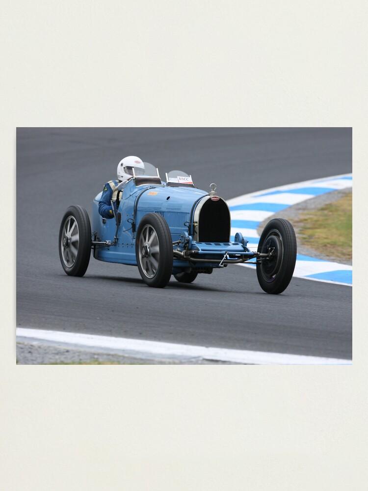 Alternate view of Bugatti Type 35C Photographic Print