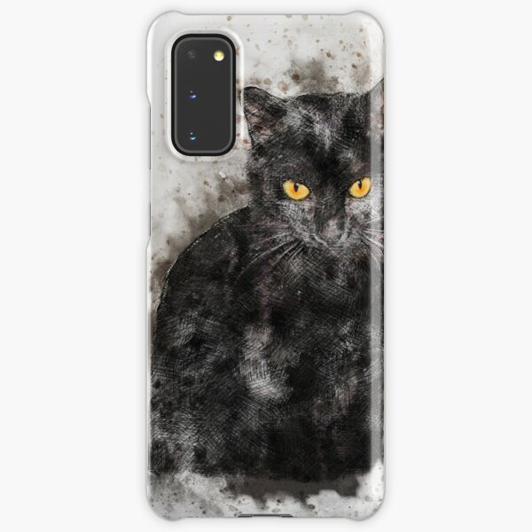 Abstract Cat Lover Samsung Galaxy Snap Case