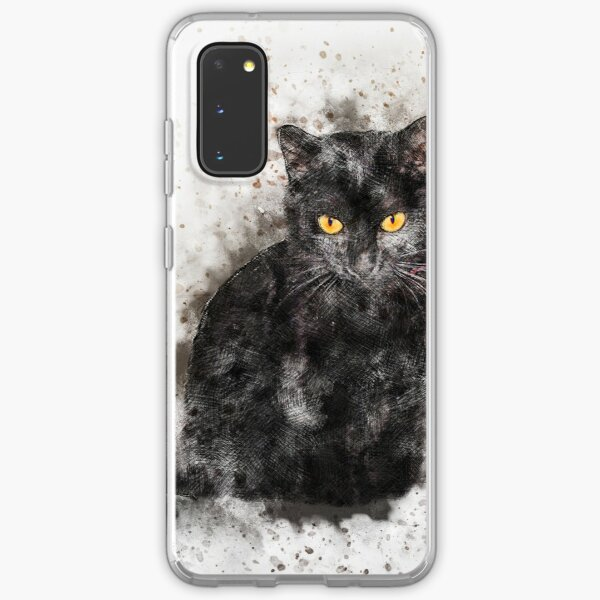 Abstract Cat Lover Samsung Galaxy Soft Case