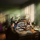 Accountant - The- Bookkeeping dept 1902 by Michael Savad