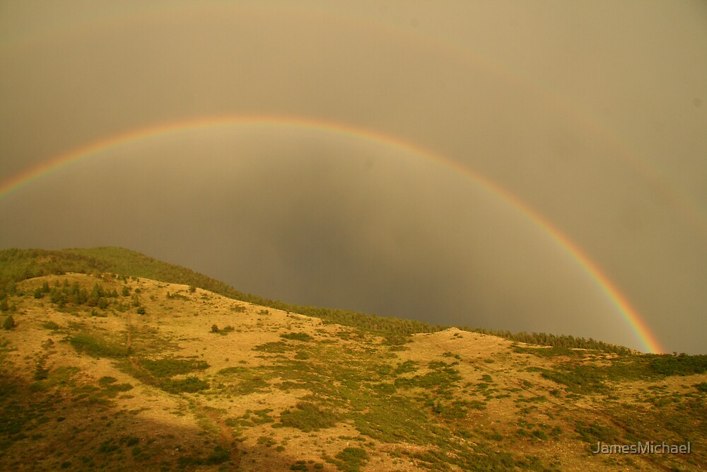 Rainbow in the Highlands by JamesMichael