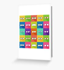 Bespectacled Greeting Card