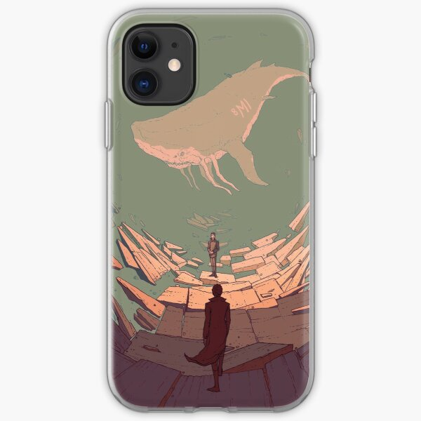 DH: Late Night Whale iPhone Soft Case