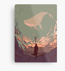 DH: Late Night Whale Metal Print