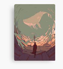 DH: Late Night Whale Canvas Print