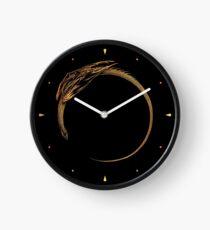 Sonnenfinsternis-Drache Uhr
